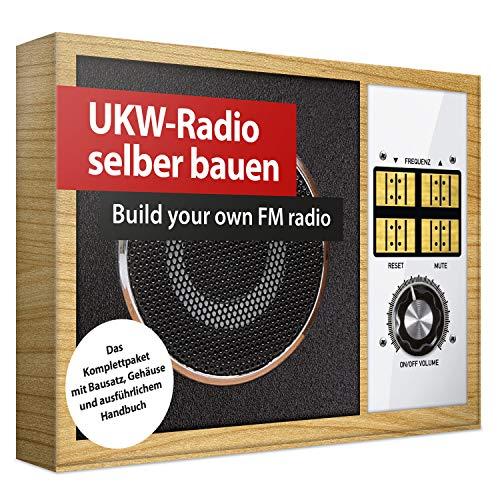 UKW-Radio selber bauen | Build your own FM radio | Das Komplettpaket mit Bausatz, Gehäuse und Handbuch...