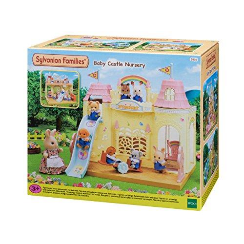 Sylvanian Families 5316 Baby Schlosskindergarten - Puppenhaus Spielset
