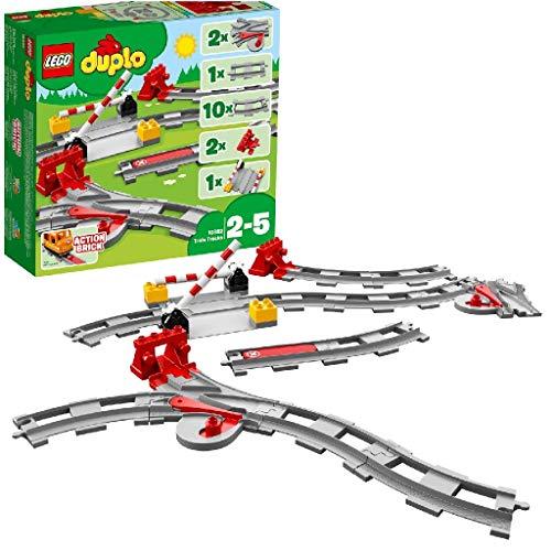 LEGO DUPLO - Eisenbahn-Schienen