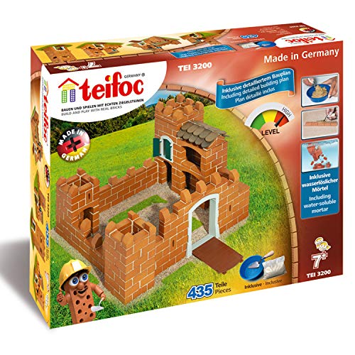 Teifoc T3200 Brick Construction-Knight's Castle, Ritterburg