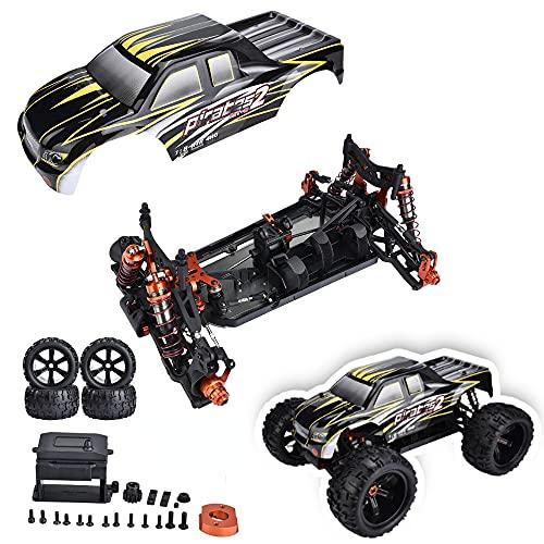 Dilwe RC Auto Rahmen und Body Shell, Professioneller Rennwagen Monster Truck Frame KIT 2,4 GHz...