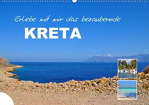 Erlebe mit mir das bezaubernde Kreta (Wandkalender 2021 DIN A2 quer)