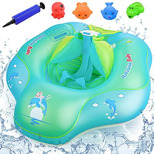 Baby Schwimmring, Anti-Umkippen Aufblasbare Schwimmreifen, Kleinkind Schwimmen, Baby Schwimmhilfe...