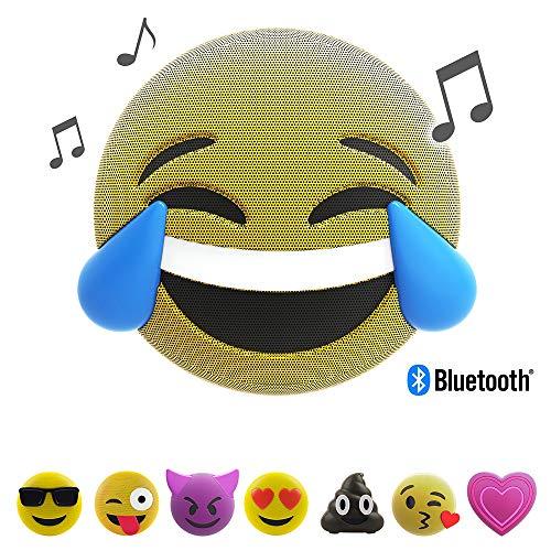 Jamoji Bluetooth Lautsprecherbox für Kinder, LOL, kabellose Lautsprecher mit LED-Beleuchtung,...