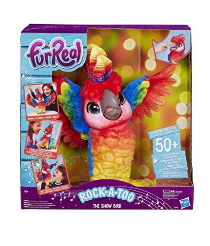 Hasbro FurReal Pauli – Mein Tanzender Papagei, interaktives Plüschtier, Kinder-Spielzeug, Batterien...