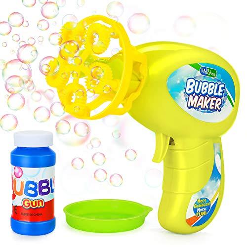 Ucradle Seifenblasenpistole - Kleine Bubble Maschine Pistole, Seifenblasenmaschine für Kinder,...