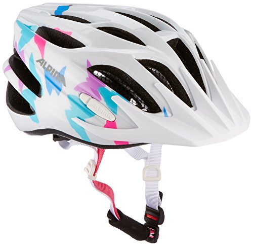 ALPINA FB jr. 2.0 Fahrradhelm, Kinder, white butterfly, 50-55