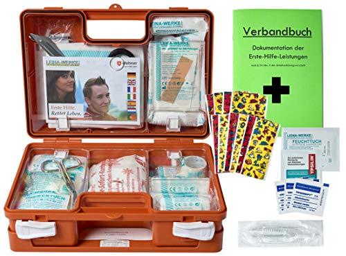 Erste-Hilfe-Koffer Kita incl.Hygiene-Ausstattung nach DIN 13157 für Betriebe + DIN/EN 13164 für KFZ -...