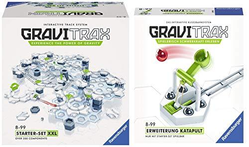 Ravensburger GraviTrax Starterset XXL mit über 100 Bausteinen - Erweiterbare Kugelbahn für Kinder,...