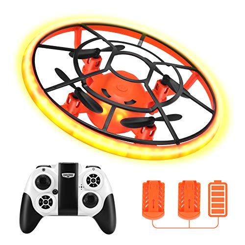 Rolytoy VraiJouet Mini Drohne für Kinder mit Höhehalten und Headless Modus, Quadrocopter mit...