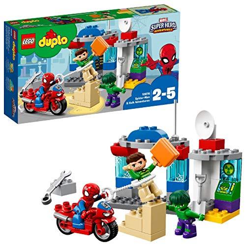 Lego Duplo 10876 'Die Abenteuer von Spider-Man und Hulk' Spielzeug
