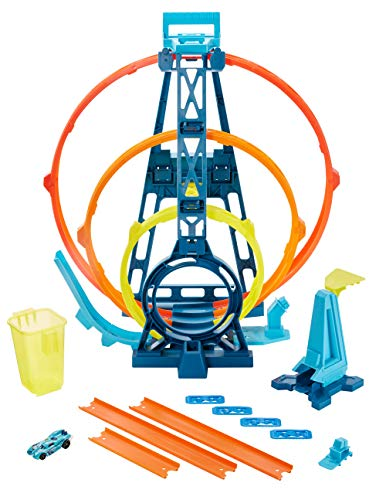 Hot Wheels GLC96 - Track Builder Unlimited Looping Set, Spielzeug ab 6 Jahren
