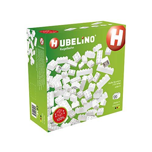 Hubelino 420619 Weiße Bausteine (120-teilig)