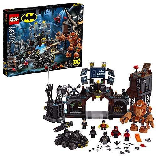 Lego 76122 DC Batman Clayface Invasion in die Bathöhle, Super Heroes Bauset zum Sammeln