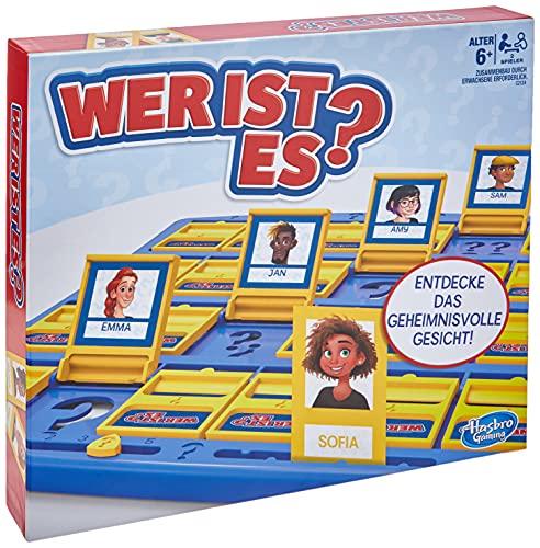Hasbro Gaming C2124398 Wer ist es? Das Original, Ratespiel für Kinder ab 6 Jahren für 2 Spieler