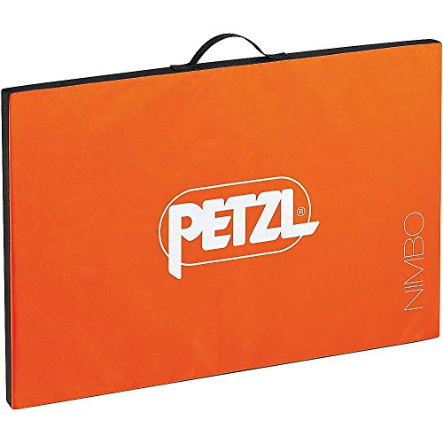 PETZL K03AO Unisex– Erwachsene Crashpad Nimbo Orange 75x50x3cm