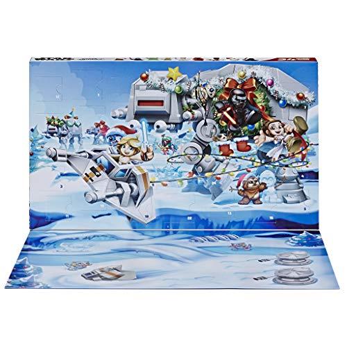 Hasbro Star Wars Micro Force Adventskalender Winterkulisse, 24 Mini-Überraschungsfiguren zum Sammeln und...