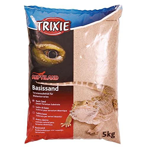 Trixie 76131 Basissand für Wüstenterrarien, 5 kg, gelb