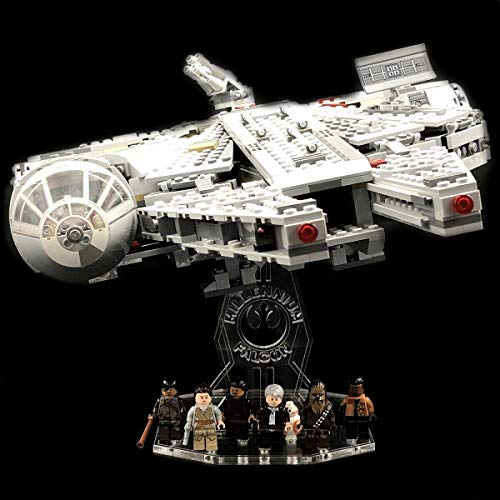 AREA17 Acryl Display Stand Acrylglas Standfuss für Lego 75105 Millennium Falcon