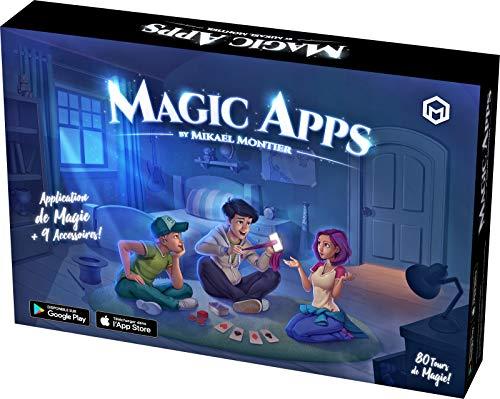 Mikael Montier - Digitaler Zauberkasten (80 Zaubertricks) - Magic Apps - Zauberkoffer mit Zauber App (iOS...