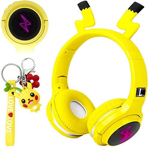 Drahtlose Bluetooth Kopfhörer für Kinder, Píkatuer Over-Ear Kabellose Kinderkopfhörer mit Mikrofon,...
