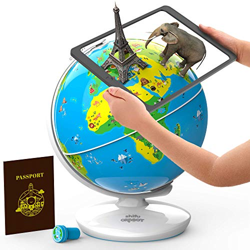 Shifu - Orboot - Der pädagogische Globus mit erweiterter Realität | Mint-Spielzeug für Jungen und...