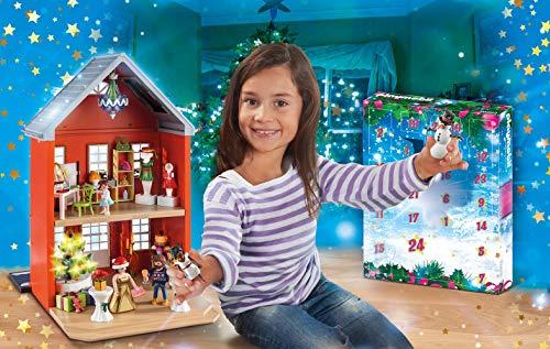 Playmobil - Adventskalender 2019 XXL Weihnachten im Stadthaus Limitiert