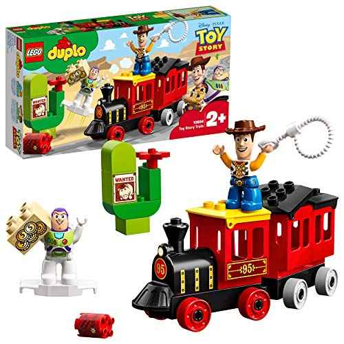 Lego 10894 DUPLO Toy-Story-Zug, Bausatz mit Buzz und Woody Figuren für Kleinkinder