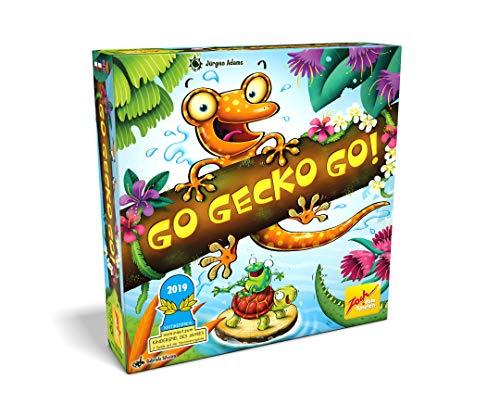Zoch 601105129 - Go Gecko Go! - Nominiert zum Kinderspiel des Jahres 2019, Gemeinschaftsspiel für die...