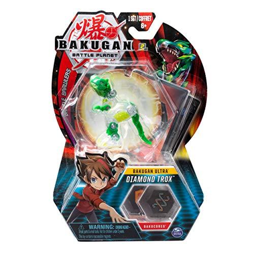 Bakugan Battle Planet Battle Brawler Diamond Trox Ultra 8cm hoch