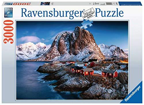Ravensburger Puzzle 17081 - Hamnoy, Lofoten - 3000 Teile Puzzle für Erwachsene und Kinder ab 14 Jahren,...