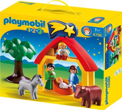Playmobil - 1.2.3. Weihnachtskrippe