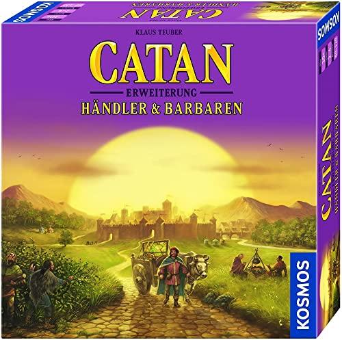 KOSMOS 693305 - CATAN - Händler & Barbaren, Erweiterung zu CATAN - Das Spiel, Strategiespiel