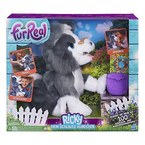 Hasbro FurReal Friends E0384100 Ricky, Mein schlaues Hündchen, elektronisches Haustier, Bunt