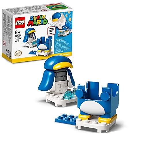 LEGO 71384 Super Mario Pinguin-Mario Anzug Power Up Pack, Erweiterungsset, Kostüm zum Rutschen