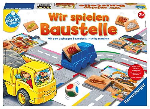 Ravensburger 24726 Wir spielen Baustelle - Bau-und Zuordnungsspiel für die Kleinen - Spiel für Kinder...