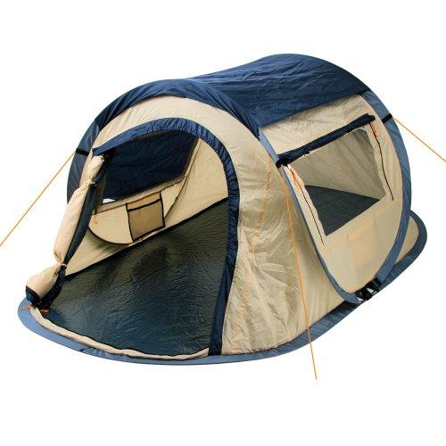 CampFeuer Wurfzelt Quiki I 2 Personen Quicktent I Campingzelt für Festival und mehr I wasserabweisend I...