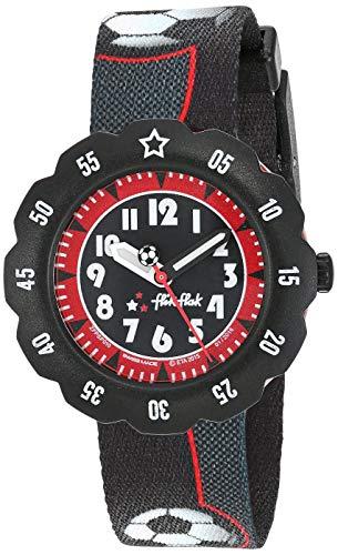 Flik Flak Jungen Analog Quarz Uhr mit Stoff Armband FPSP010