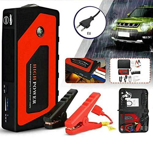 Sidougeri 12V Auto-Notstart Auto-Starthilfe Tragbare USB-Powerbank-Spannung
