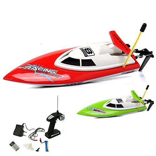 4-Kanal RC ferngesteuertes mini Speedboot mit Power 3.7V Li-on Akku Komplett-Set mit Zubehör