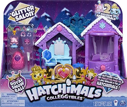 Hatchimals CollEGGtibles Glitzer - Salon Spielset