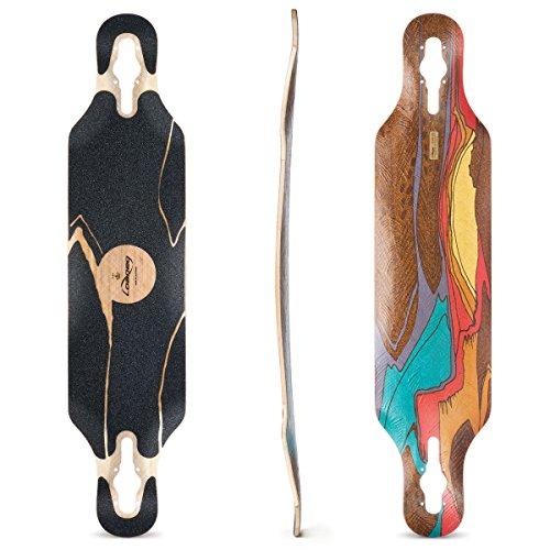 Loaded Boards Icarus Bamboo Longboard Skateboard Deck (Flex 1)