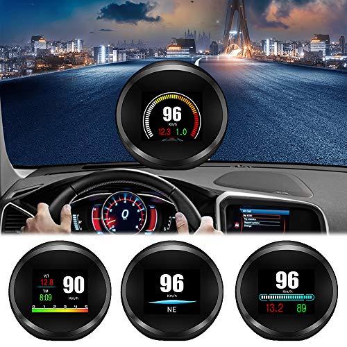 Auto-Head-Up-Display, FSVEYL-verbessertes Dual-Mode-HUD-OBD II/GPS mit...