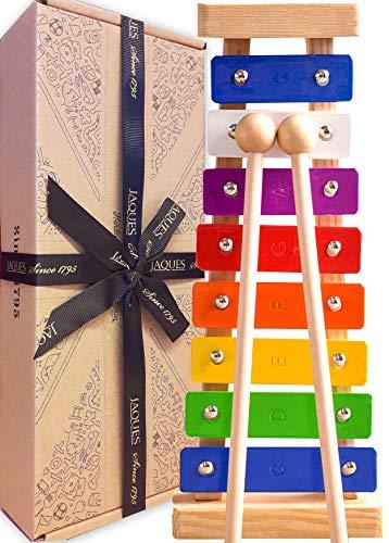 Jaques Von London Xylophon – Perfekt Spielzeug ab 1 2 3 Jahr Beinhaltet kostenlose Songblätter für...