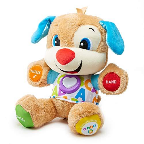 Fisher-Price FPM50 - Lernspaß Hündchen, deutschsprachig, babyspielzeug ab 6 Monaten