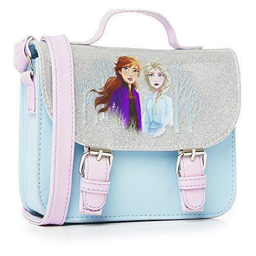 Disney Frozen 2 Die Eiskönigin Zubehör Handtasche Klein Für Mädchen mit Anna und Elsa, Mädchen...