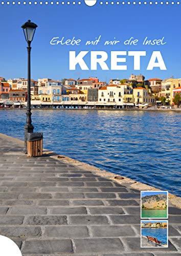 Erlebe mit mir die Insel Kreta (Wandkalender 2021 DIN A3 hoch)