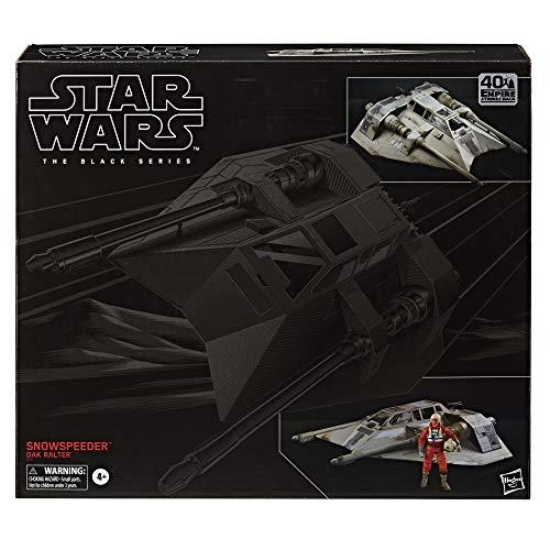 Star Wars The Black Series Snowspeeder Fahrzeug mit Dak Ralter Figur 15 cm große Imperium schlägt...
