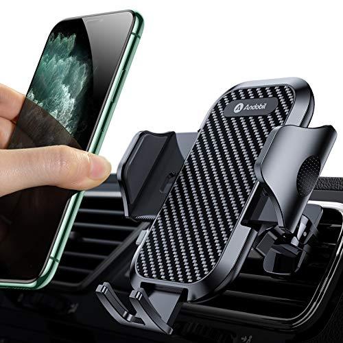 andobil Handyhalterung Auto Handyhalter fürs Auto Lüftung Upgrade mit 2 Lüftungsclips Handy Halterung...