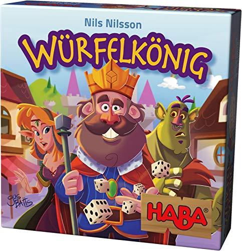 Haba 303485 - Würfelkönig, kniffeliges Zockerspiel für 2-5 Spieler ab 8 Jahren, spannendes...